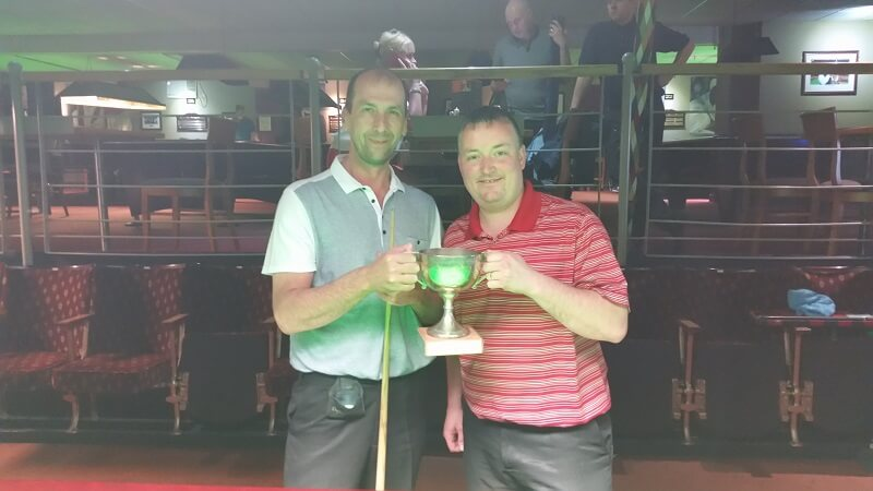 Yorkshire Snooker Pairs Championship 2016 Brought to you by Terry Crofts Defending Champs 2015: Wayne Cooper & Kevin Firth (Bradford)