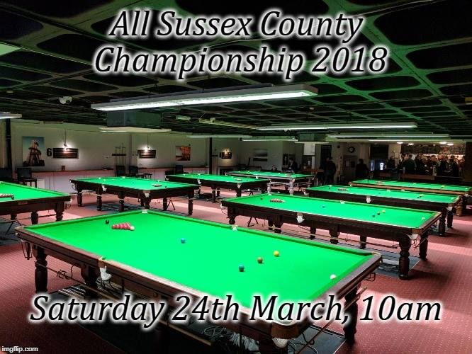 All Sussex County Championships