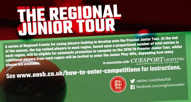 EASB Regional Junior Tour header