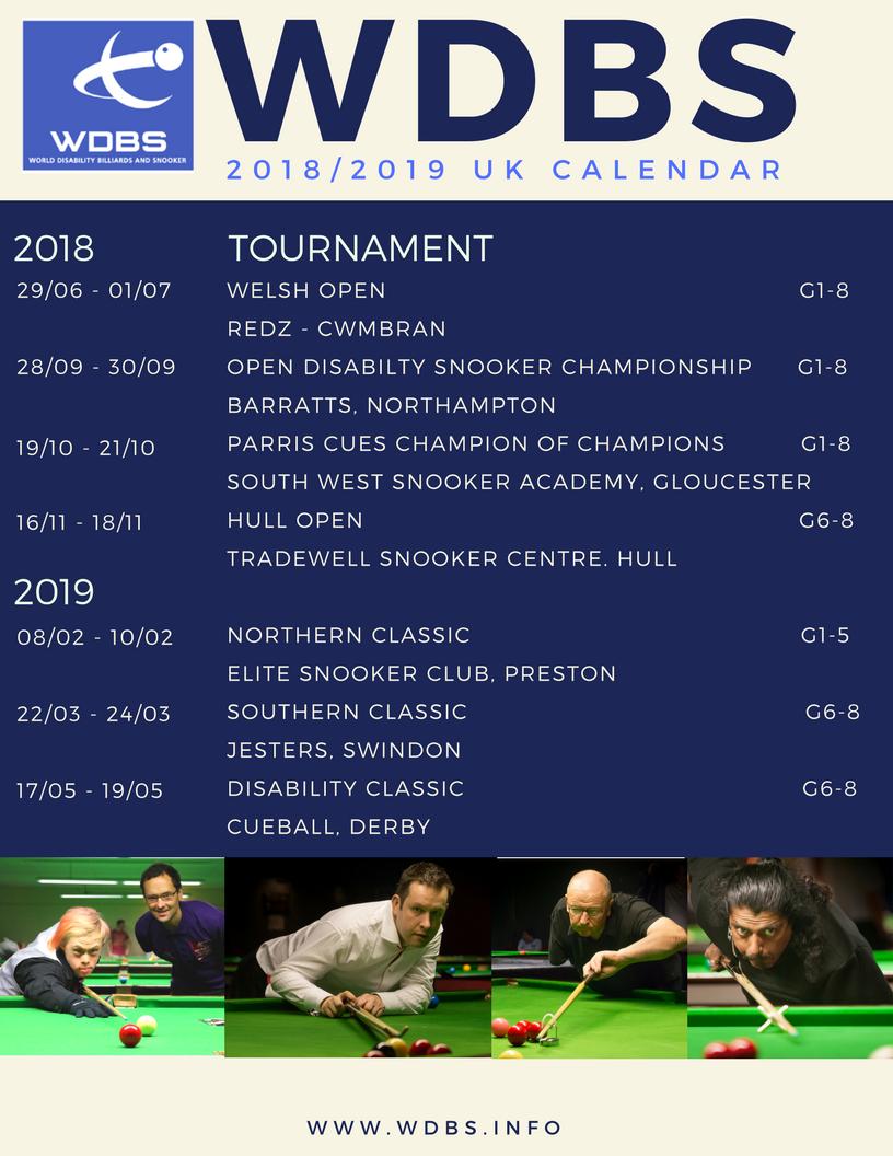 WDBS Calendar 2018-19
