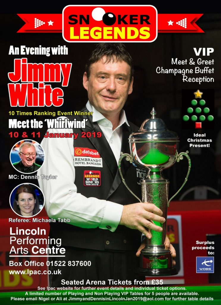 Jimmy White at LPAC