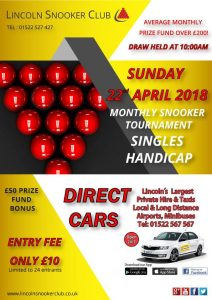Lincoln Monthly Handicap April 2018