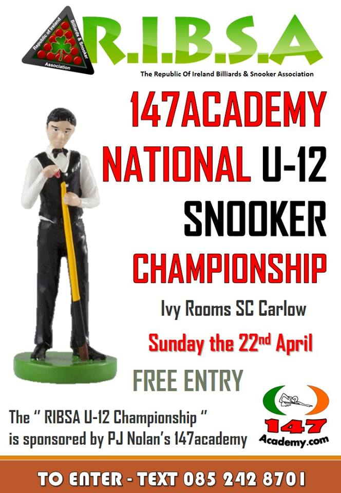 RIBSA National Under 12 Snooker Championship