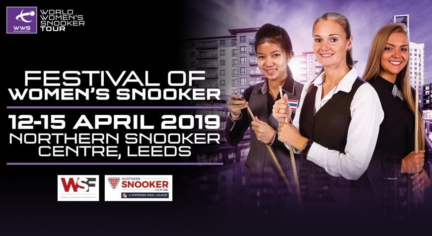 World Womens Snooker Tour Festival 2019 Poster