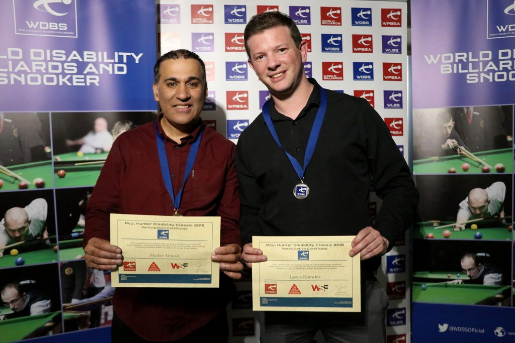 Shabir Ahmed and Lewis Knowles