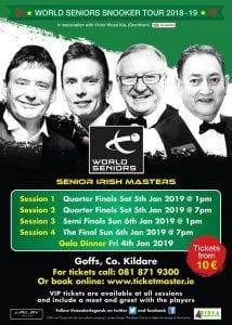 Seniors Irish Masters Final Poster