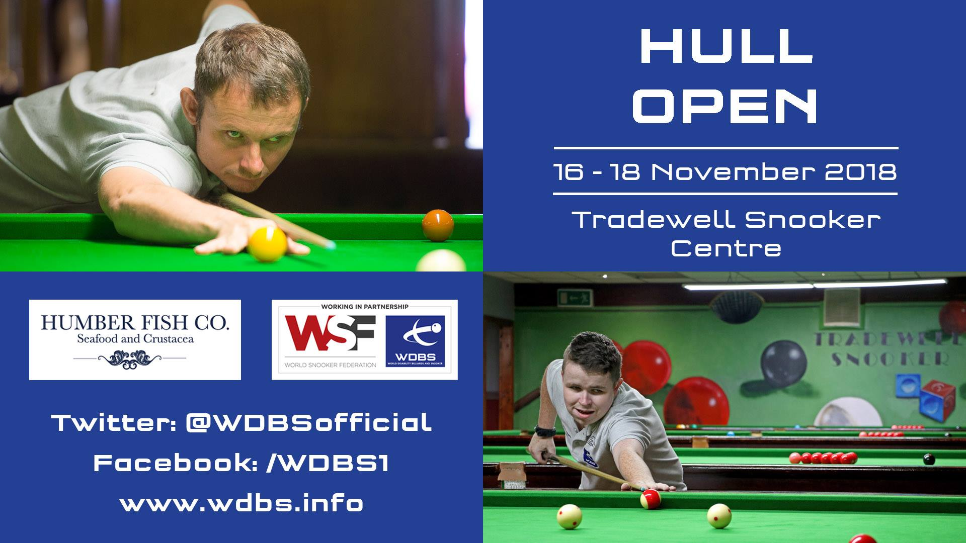 Hull Open 2018 Poster