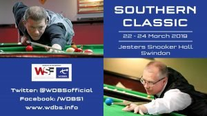 Poster for WDBS Southern Classic 2019