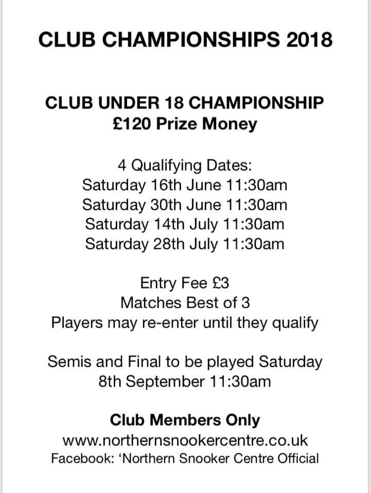 Under 18s Club Championship