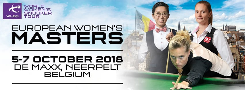 WPBSA - Euro Women's Masters 2018