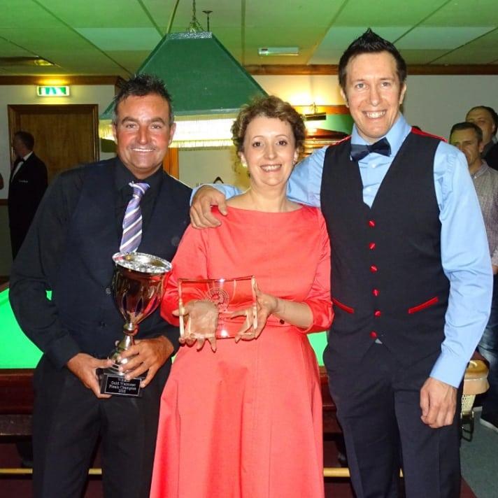 Eddie Manning Gold Masters Winner