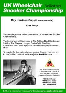 180922 UK Wheelchair Snooker Championship