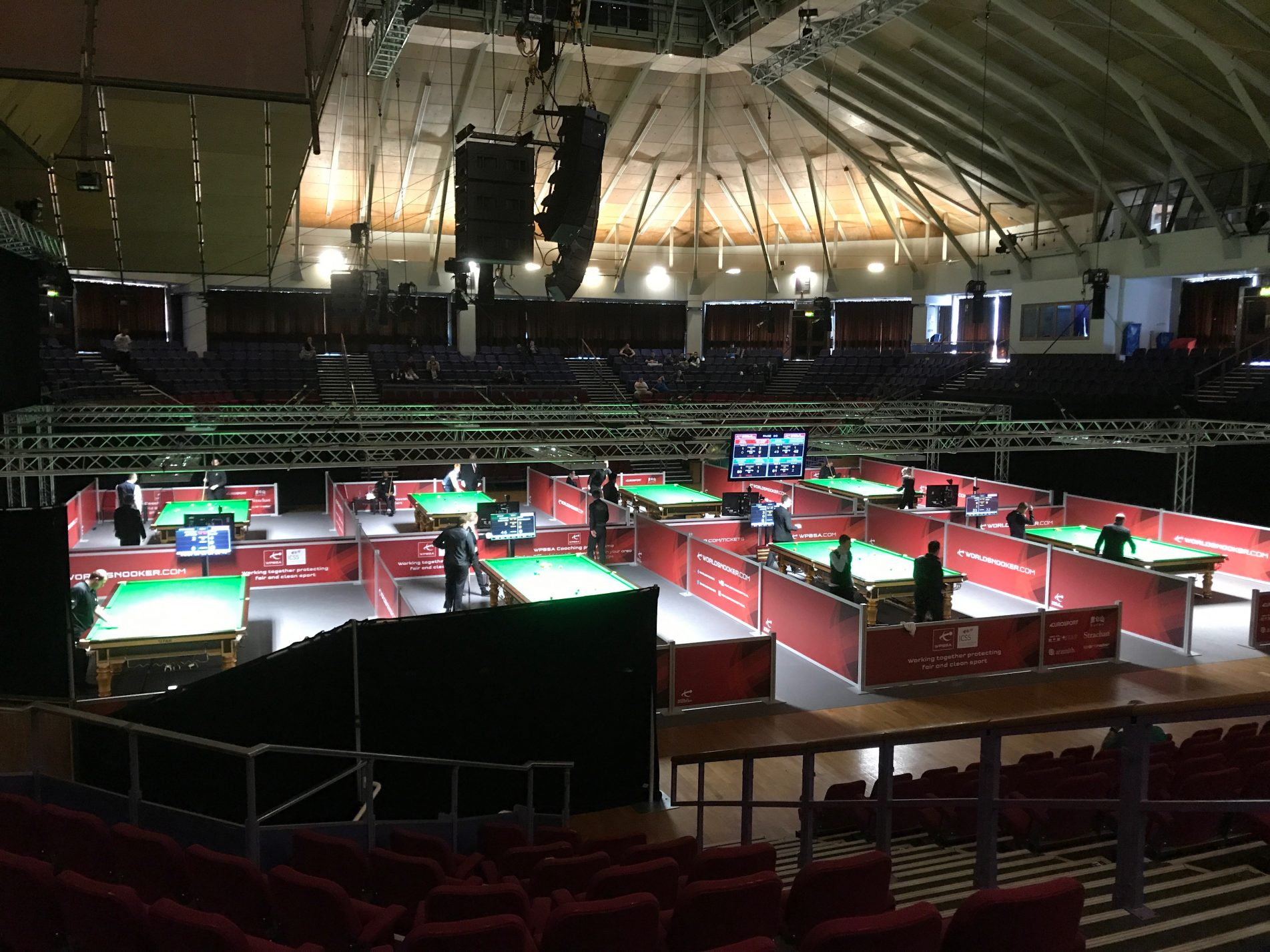 Snooker at Preston Guild Hall