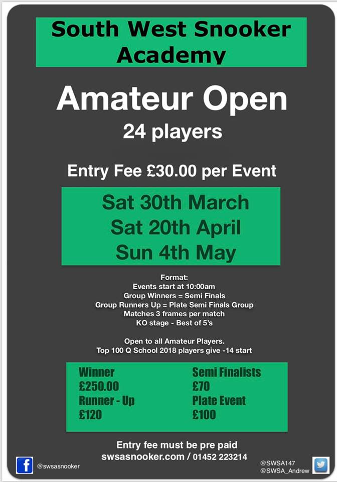 Amateur Open Series