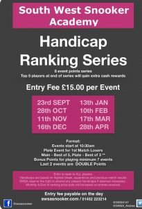 Handicap Series 2018-19