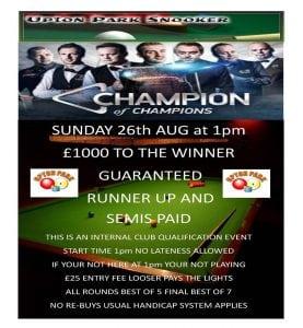 Upton Park Champion of Champions