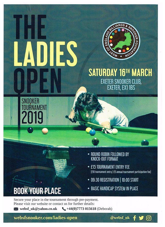WEBSF Ladies Open 2019