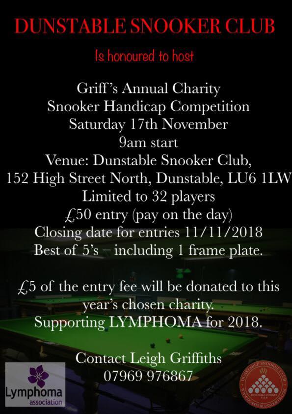 Griff's Charity Handicap