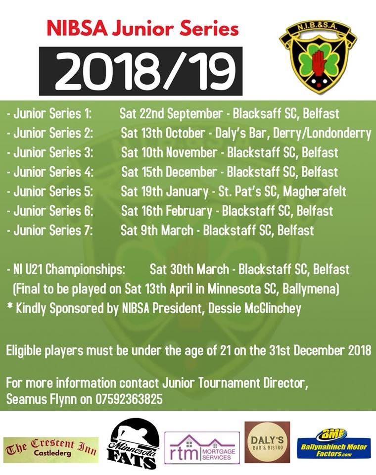 Junior Calendar 2018-19