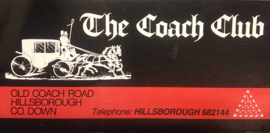 The Coach Club, Hillsborough