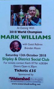 Mark Williams at Shipley