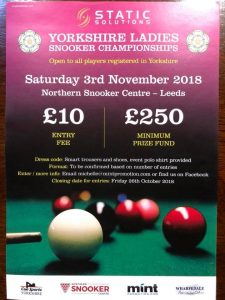 Yorkshire Ladies Snooker Championships