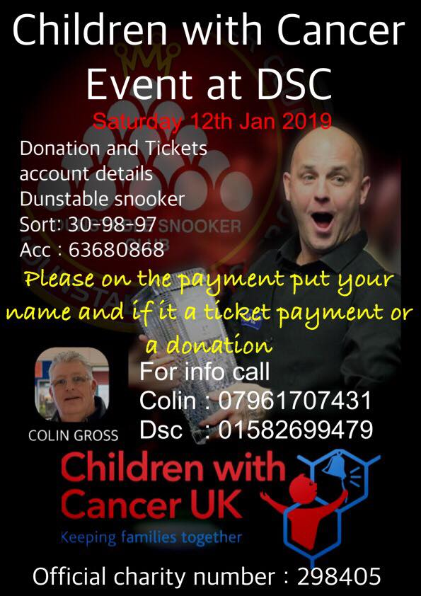 Children with cancer charity event at DSC