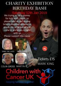 Charity Snooker Exhibition featuring Mark King