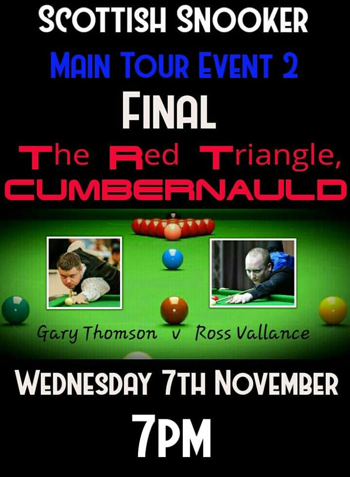 Scottish Snooker Main Tour Event 2 Final