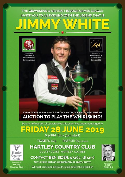 Jimmy White at Hartley Country Club