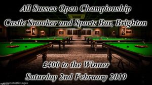 All Sussex Open Championship 2019