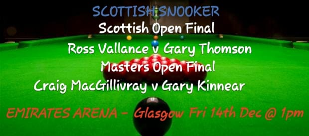 Scottish Amateur Events at the Scottish Open