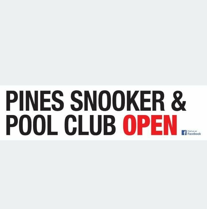 Pines Snooker and Pool Club Logo