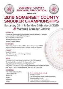 2019 Somerset County Championships