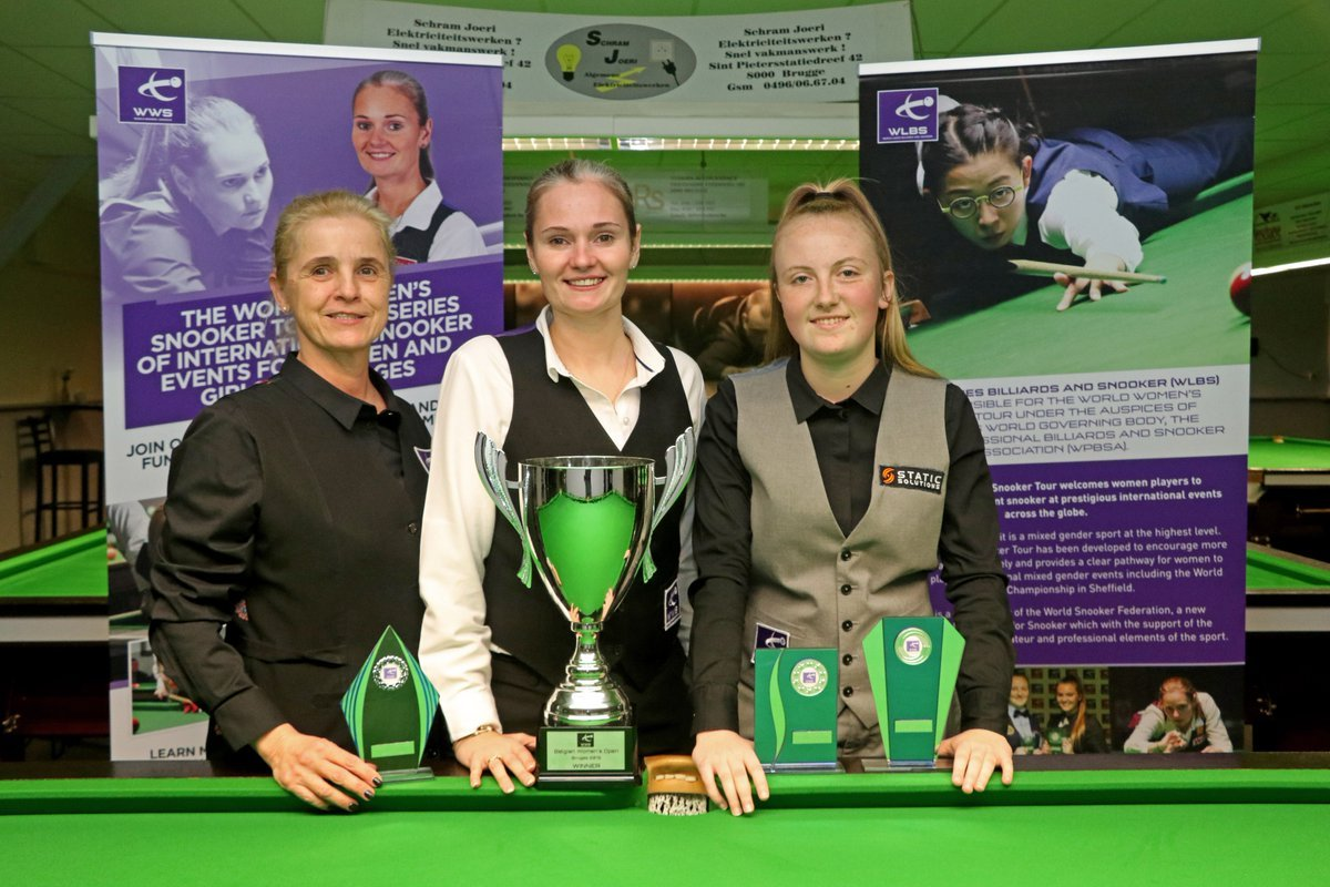 Belgian Women's Open Winners