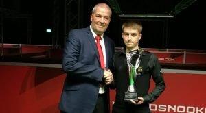 Challenge Tour 1 Winner - Brandon Sargeant