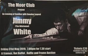 190531 Jimmy White at The Moor Club