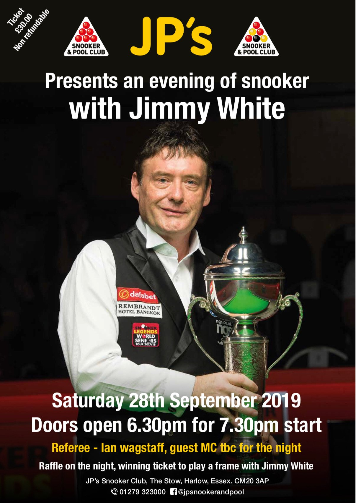 Jimmy White at JPs