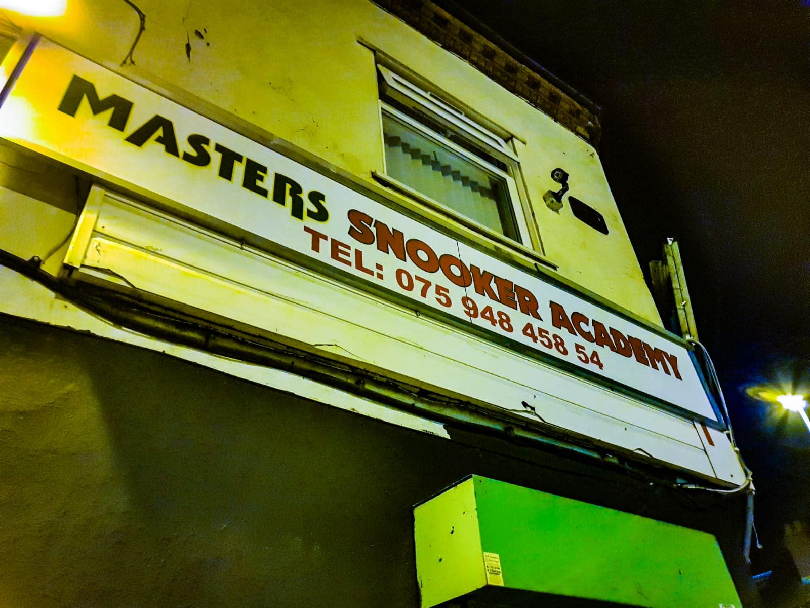 Masters Snooker Academy