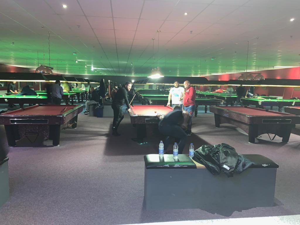 147 Snooker Academy Main Room