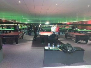 147 Snooker Academy Main Room