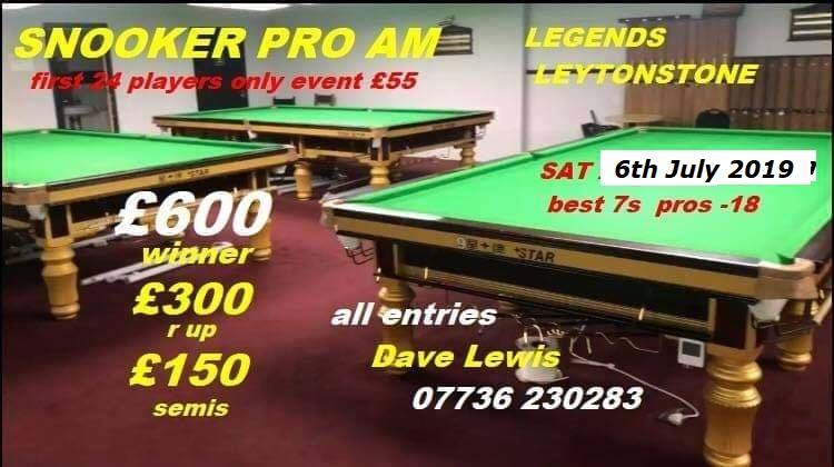 Leytonstone Snooker Pro-Am