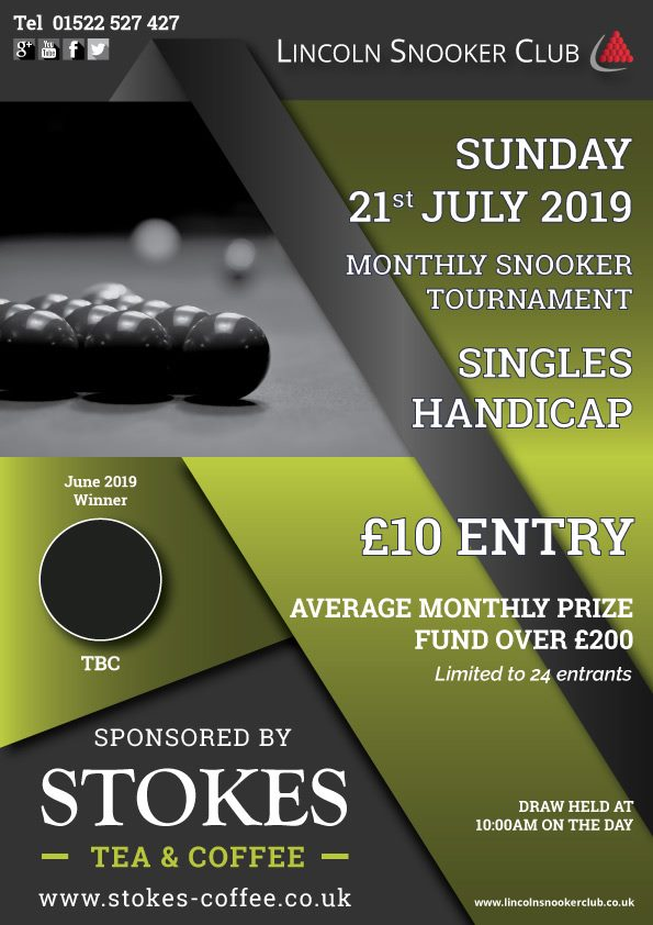 The Stokes Coffee Open at Lincoln Snooker Club