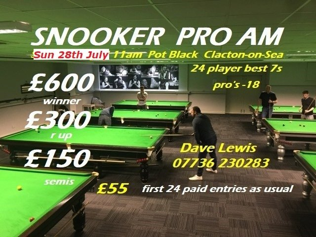 Clacton Snooker Pro-Am