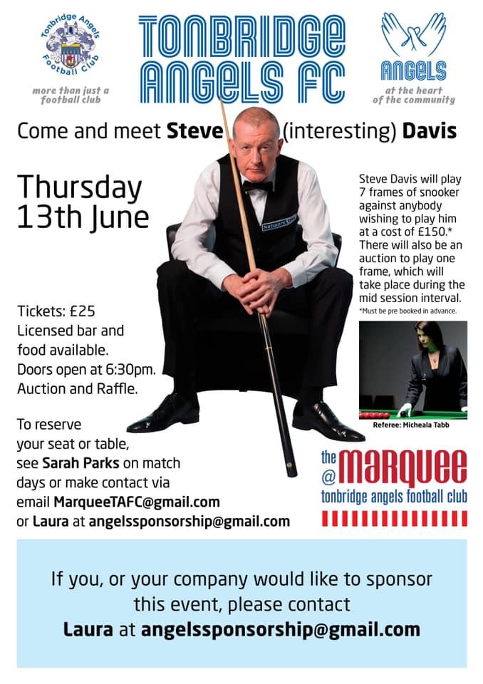 Steve Davis at Tonbridge Angels FC