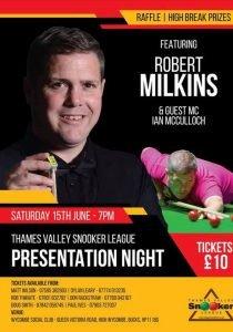 Robert Milkins at High Wycombe Social Club