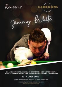 Jimmy White at Camerons