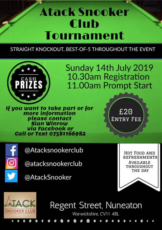 Atack Snooker Club Tournament