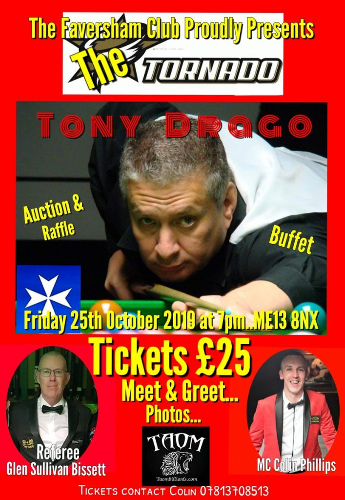 Tony Drago at The Faversham Club