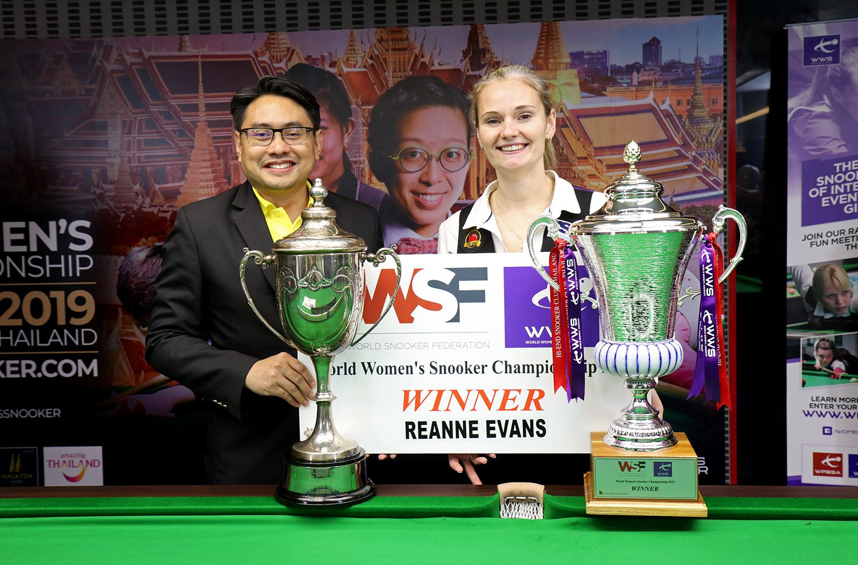 Winner - Reanne Evans